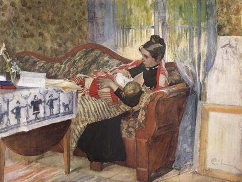 Carl Larsson: Egy anya gondolatai
