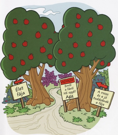 az Édenkert fái