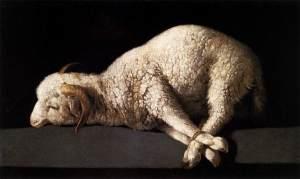 a megöletett bárány