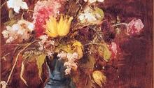 Munkácsy Mihány: Virágcsendélet