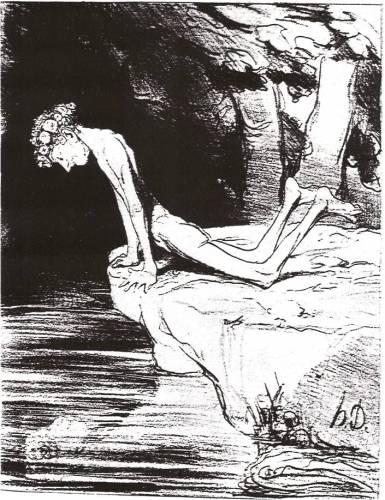Daumier: Narcissus