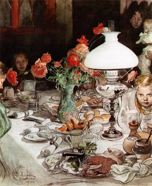Carl Larsson: A lámpa körül