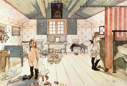 Carl Larsson: A gyerekszoba