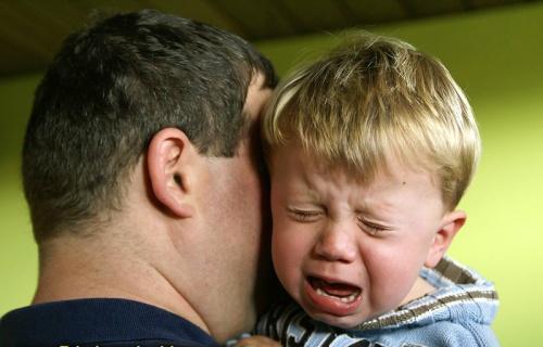 vigasztaló apa